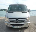 Taxi Piran - Mercedes Sprinter 315 CDI - double aircondition, inside full in leather, wood decor, huge luggage, inside partially in leather, (8 + 1)